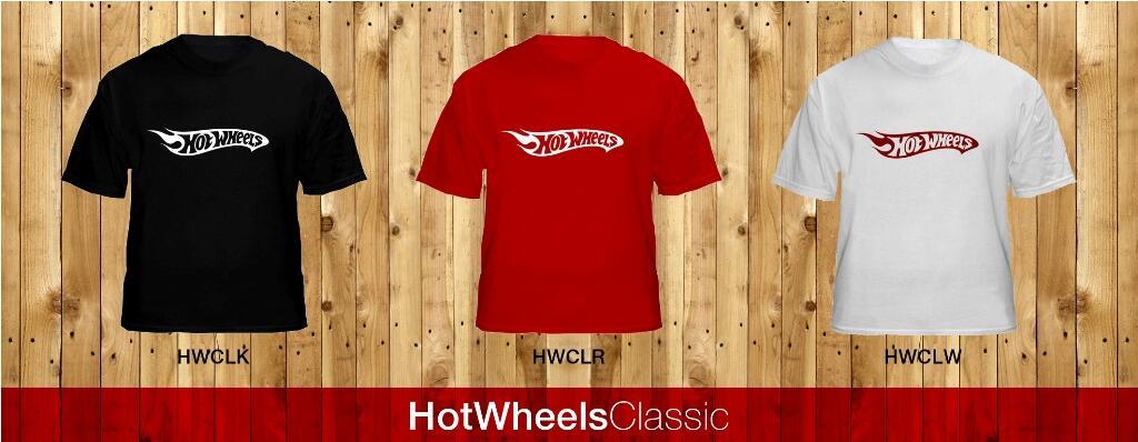 T-shirt HotWheels Classic