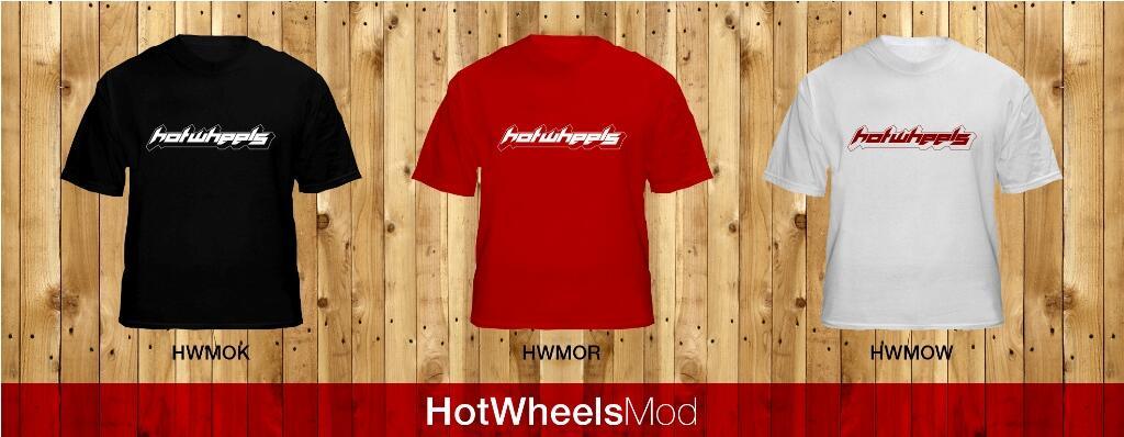 T-Shirt HotWheels Mods