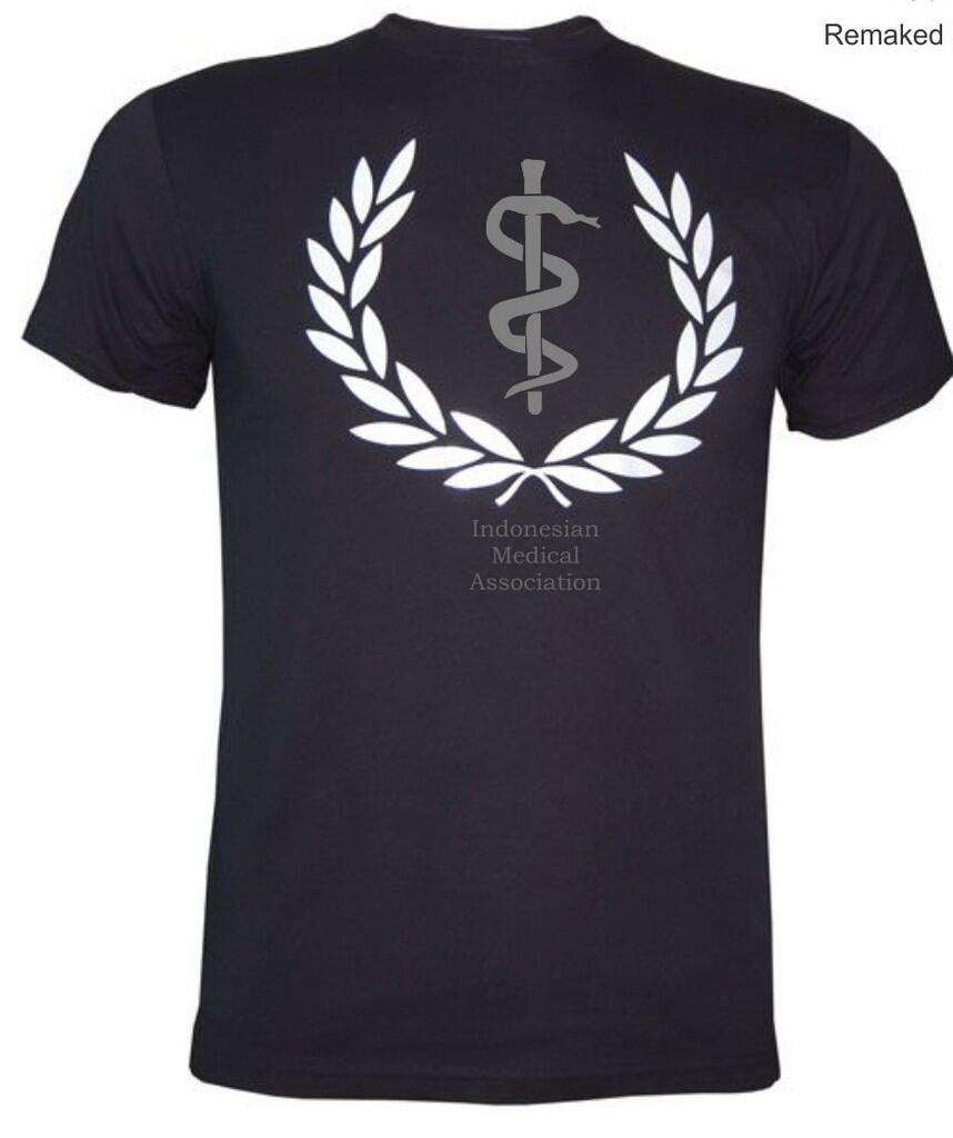"$ kaos ""Indonesian Medical Association"" $ Limited Edition Medical Apparel"