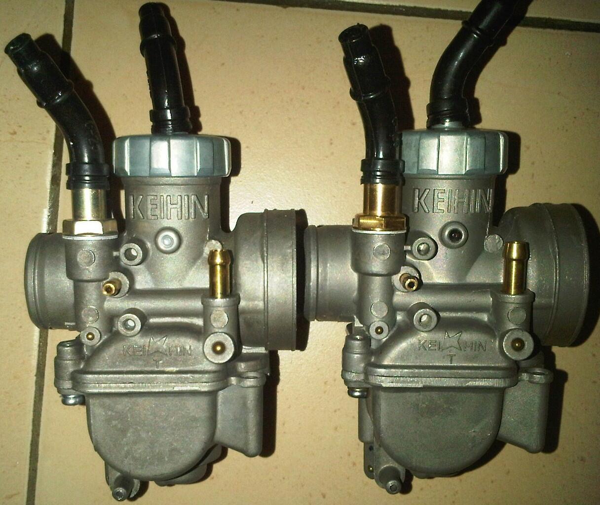 Terjual Karburator keihin PE24/26/28 + PWL26/28 + PWK28