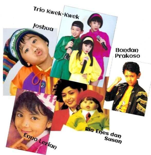 Masih Ingat? Trio Kwek Kwek, Penyanyi Cilik Legendaris