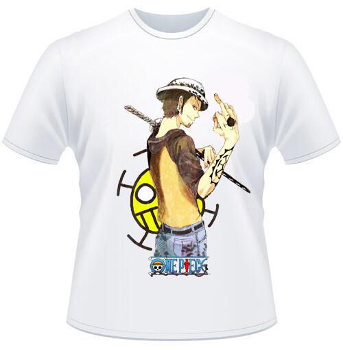 kaos/tshirt anime one piece, naruto,distro (aink shop)