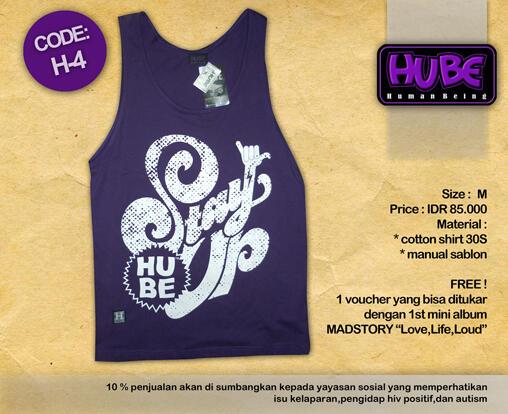 T-Shirt Dari Berbagai Clothing Local, Murah ! Berhadiah CD Album !