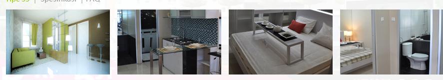 Green Pramuka Apartement - 2 bedroom/33m
