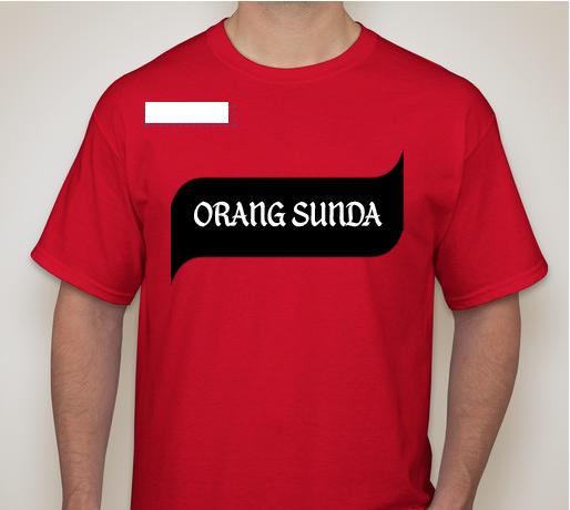 "P.O Tshirt ""Orang Sunda"""