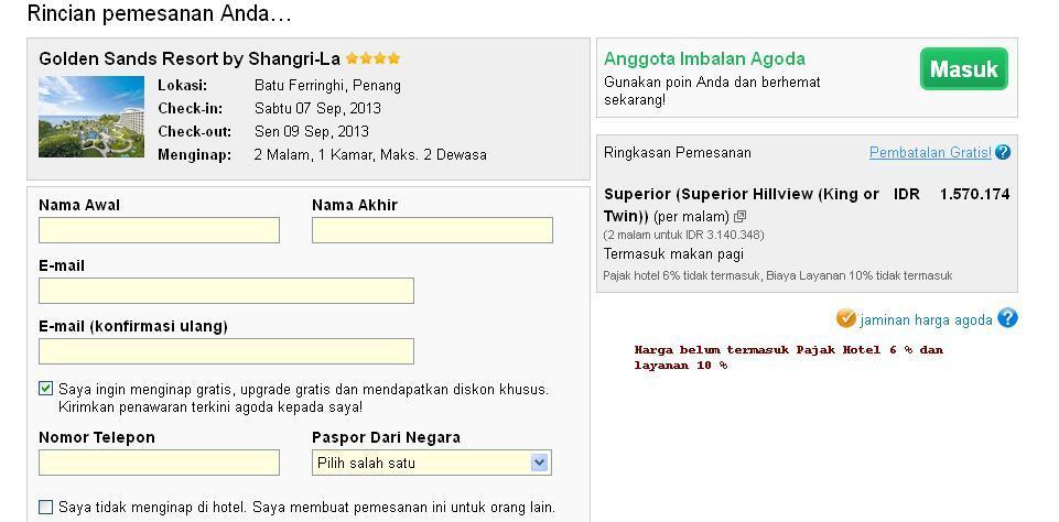 Jasa Booking AGODA Tanpa FEE ( GRATIS ) - Hostelworld - KMTB - Expedia Etc