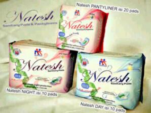 Pembalut Natesh, Pencegah Kanker Serviks...