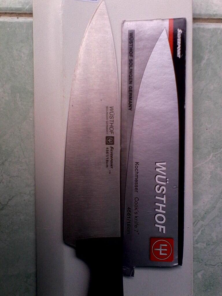 Terjual Pisau Chef Professional Wusthof Bunmei Super Langka Lucky Buy 1 Get Free .