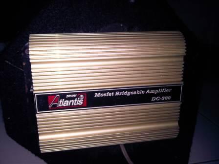 PAKET AUDIO MOBIL 500RB (POWER+SUB+BOX) SOLO