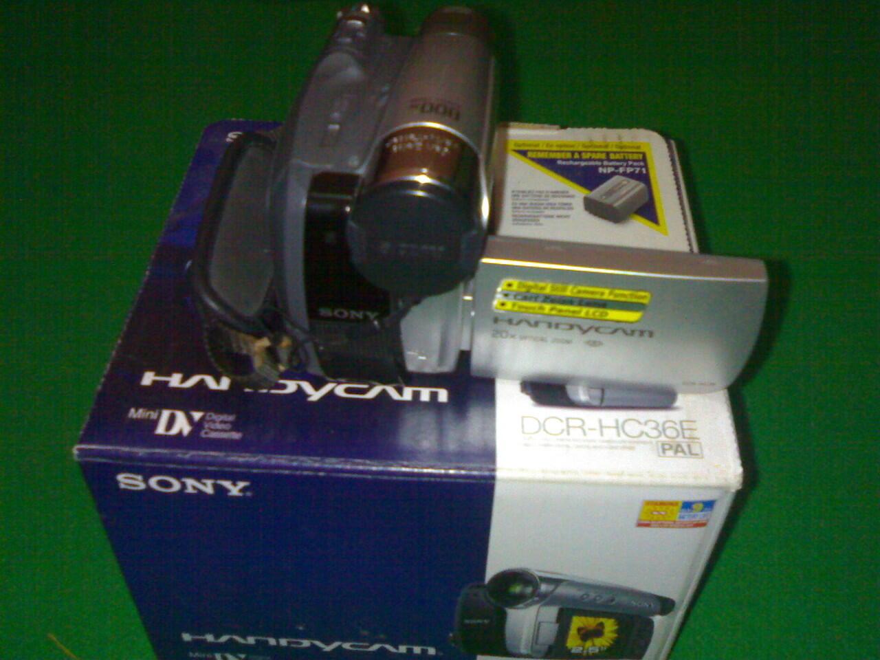 Handycam Sony Dcr-hc36e Solo