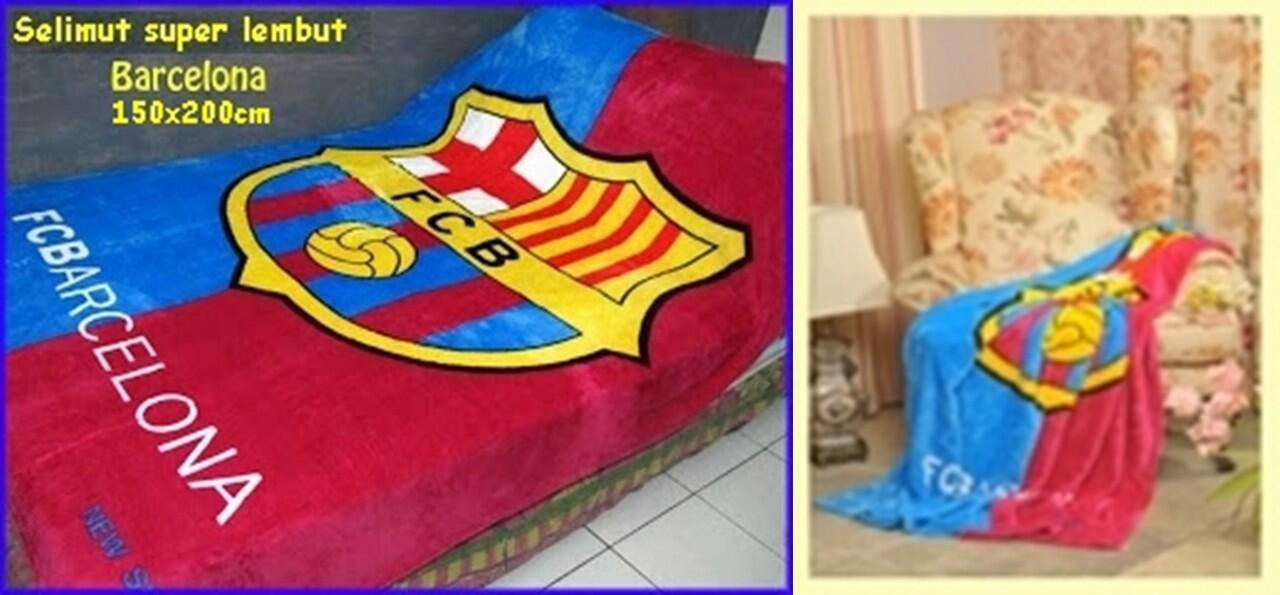 BARCELONA sprei dan selimut