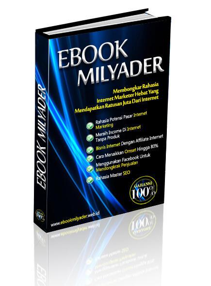 E-book Milyader, Cara Mendongkrak Penjualan Hingga Ratusan Juta