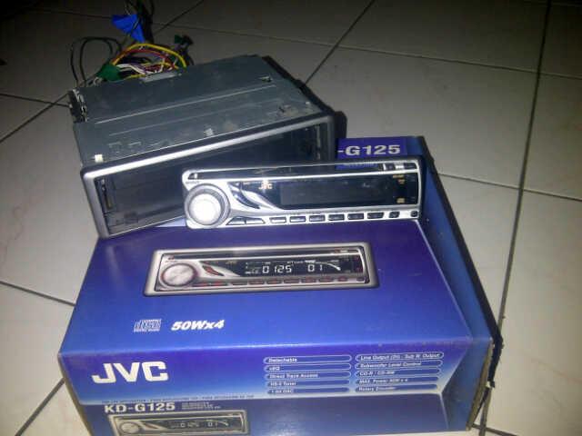 (JUAL) HEAD UNIT JVC KD-G125