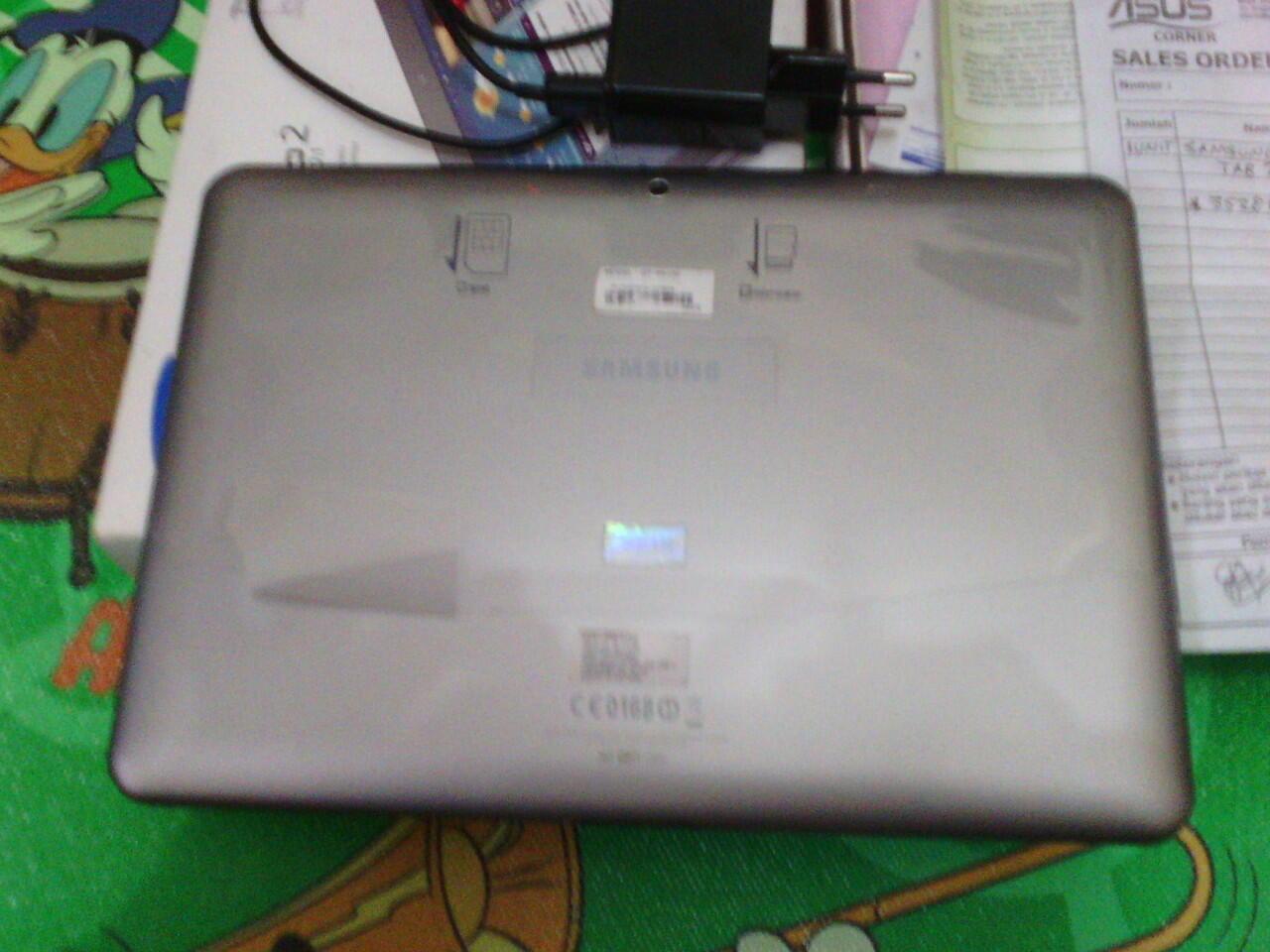 Jual Galaxy Tab2 GT-P5100 mulus Like new 95%
