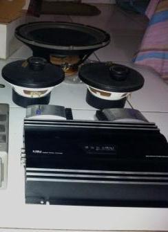 Sepaket audio; :Power + Speaker + Sub + bonus .. cuma 1jt an ajah!!!