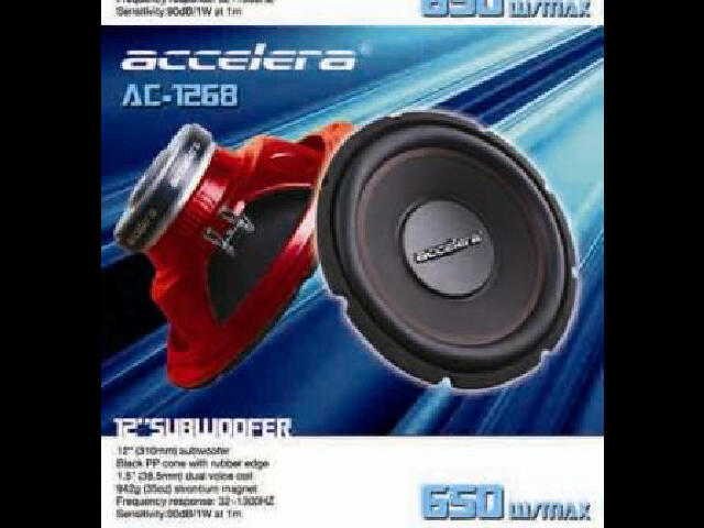 Audio mobil Sub woffer 12'