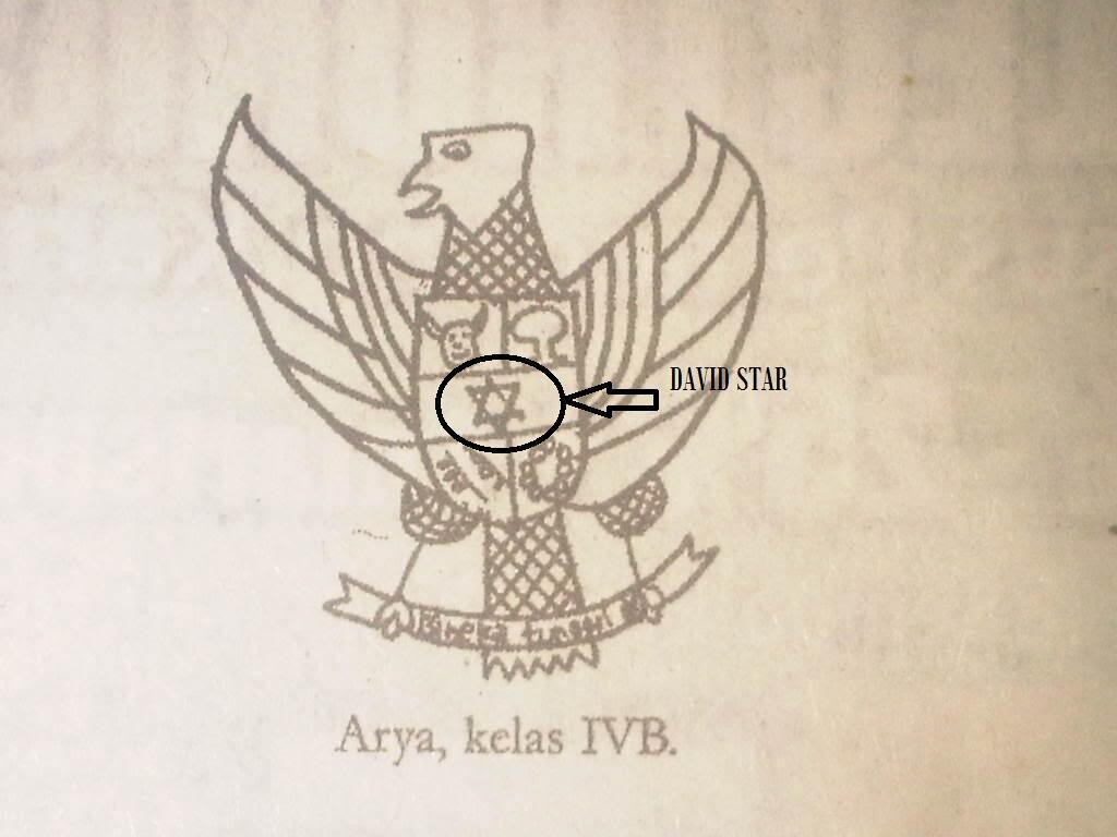 Original Posted By haf3amd■Lambang Garuda yang di gambar oleh anak kelas 4SD