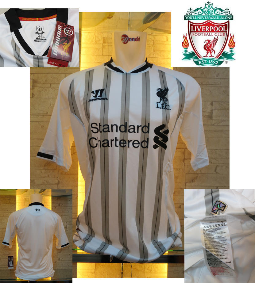 JERSEY LIVERPOOL HOME AWAY GK NEW OFFICIAL