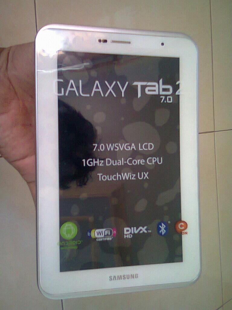 Galaxy Tab 2 7.0 P3100 Jelly bean