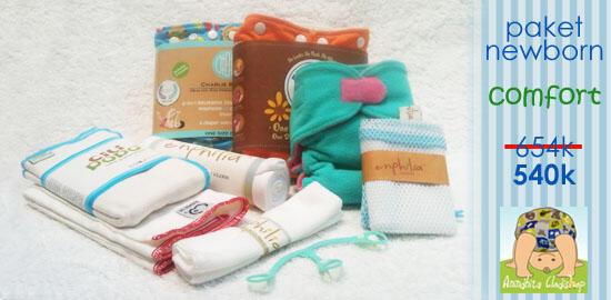 Clodi Prefold untuk Bayi Baru Lahir
