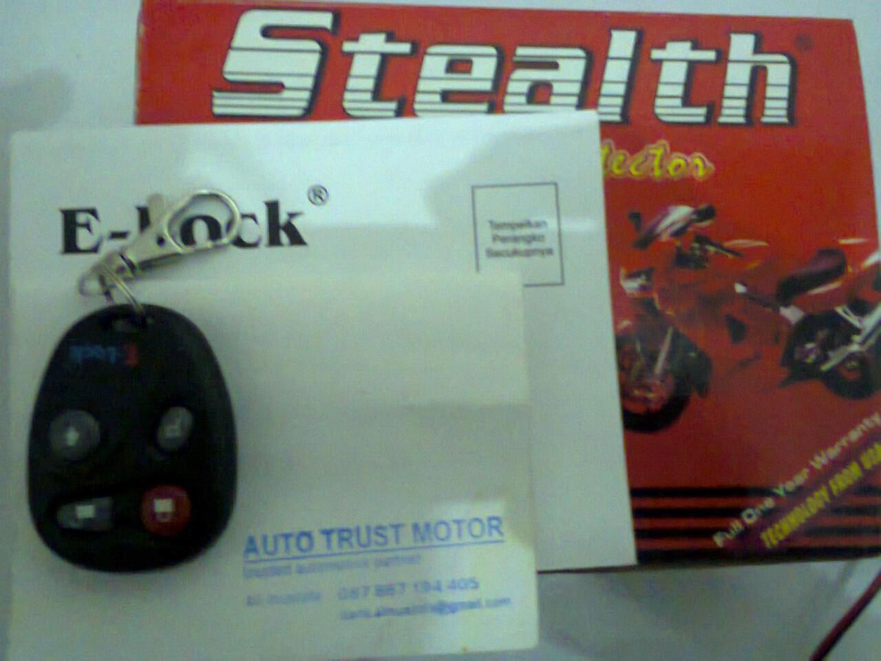 e-lock stealth PASANG DIRUMAH 285000 SEMUA MOTOR BISA DAN BERGARANSI