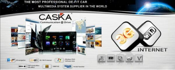 Caska iNet series head unit dngn segala kecanggihannya bisa internet!