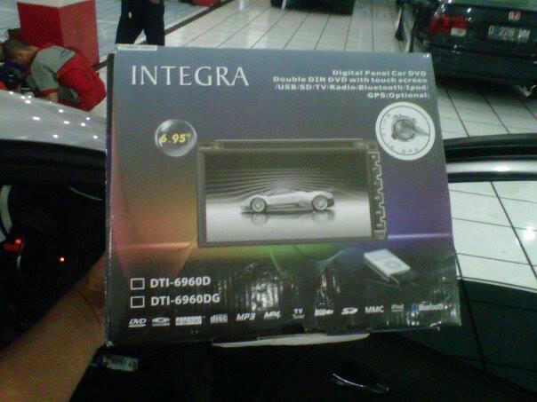"""DoubleDin GPS merk INTEGRA 6,95"""" Rp 2,5jt.... bandung..."""
