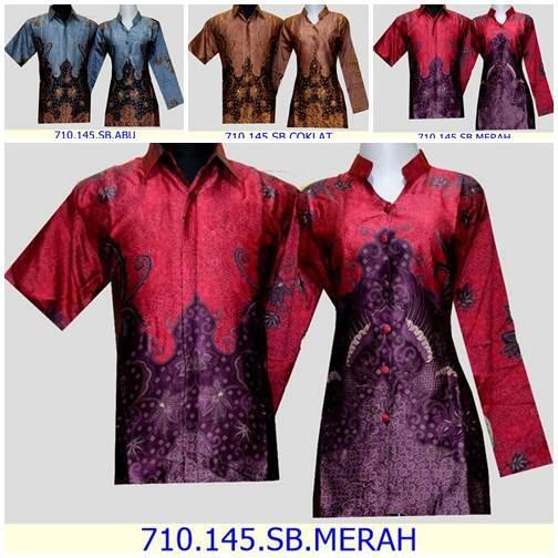 Terjual Baju Batik Murah Reseller Baju Batik Kemeja Hem Gamis Dress Blouse Model Baju