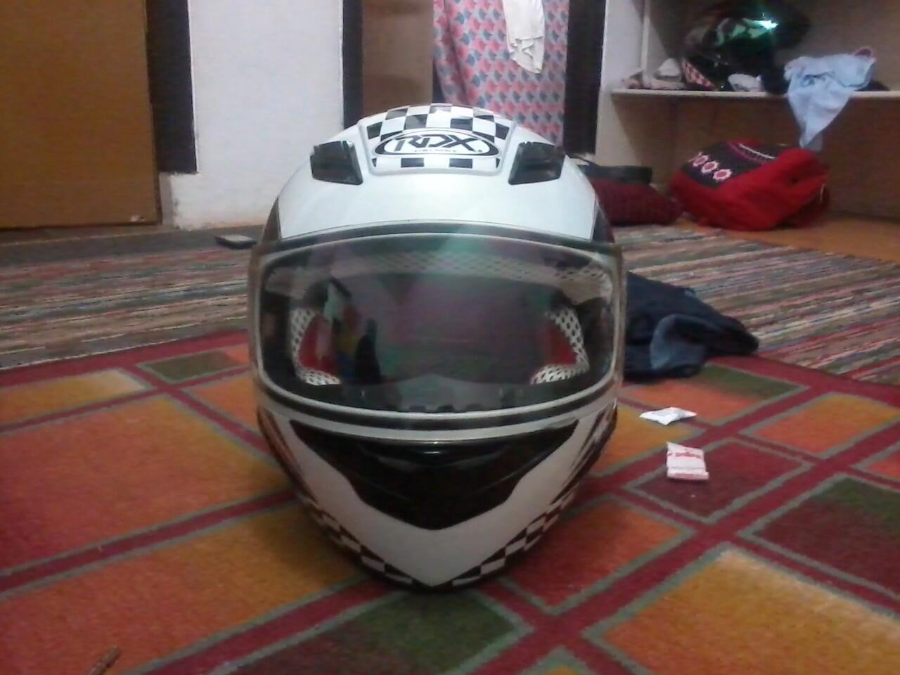 helm RDX full face kondisi mulus jarang pakai