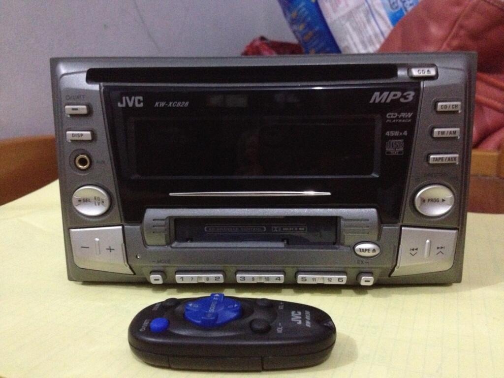 Dijual HU JVC KW-XC828 (Double Din OEM Honda City)