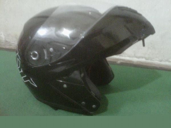 Dijual Cepat Helm KYT RRX Modular/Flip Up Mulus Mampus [Malang]