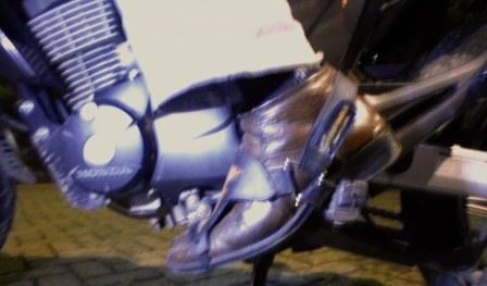 Kondom Sepatu Biker