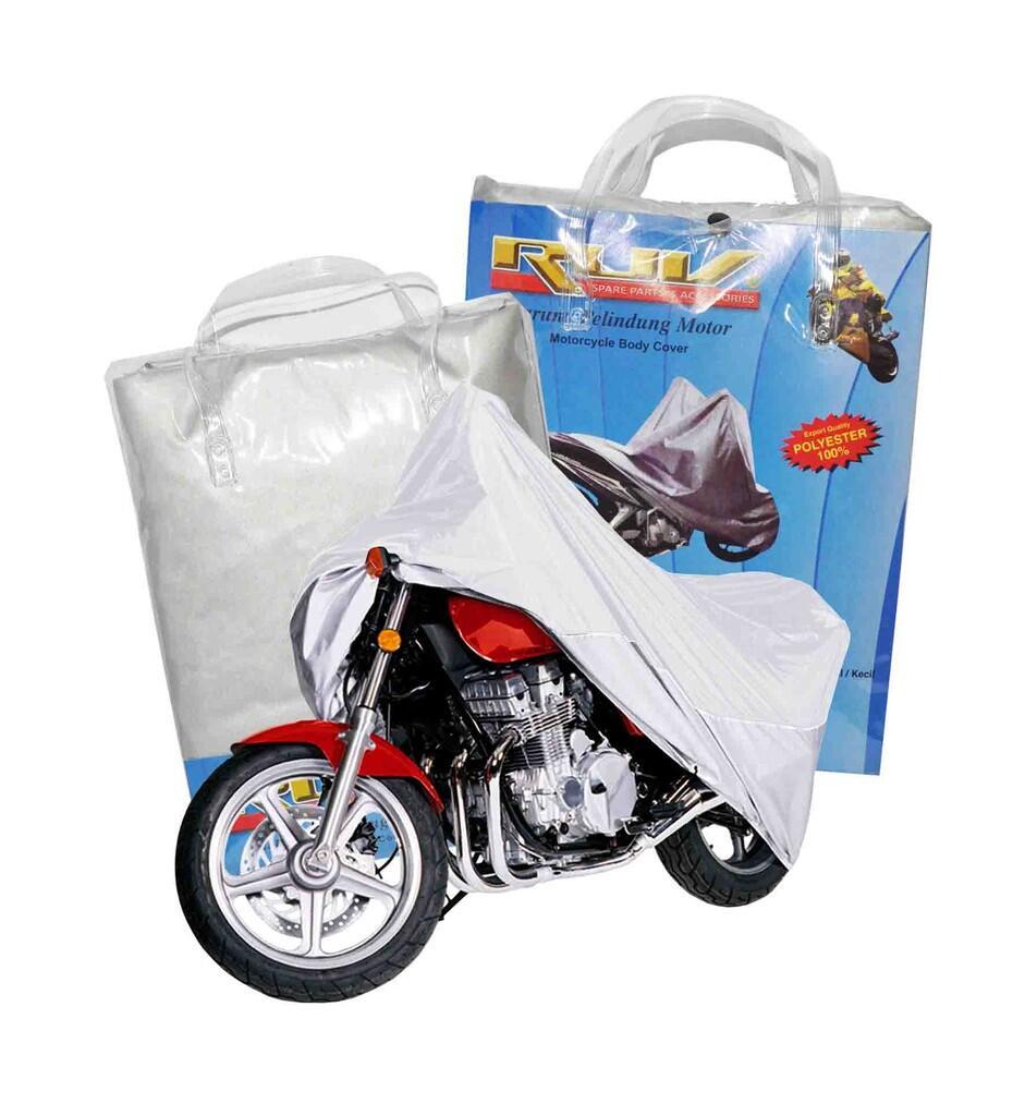 RUV Cover Motor Silver Besar