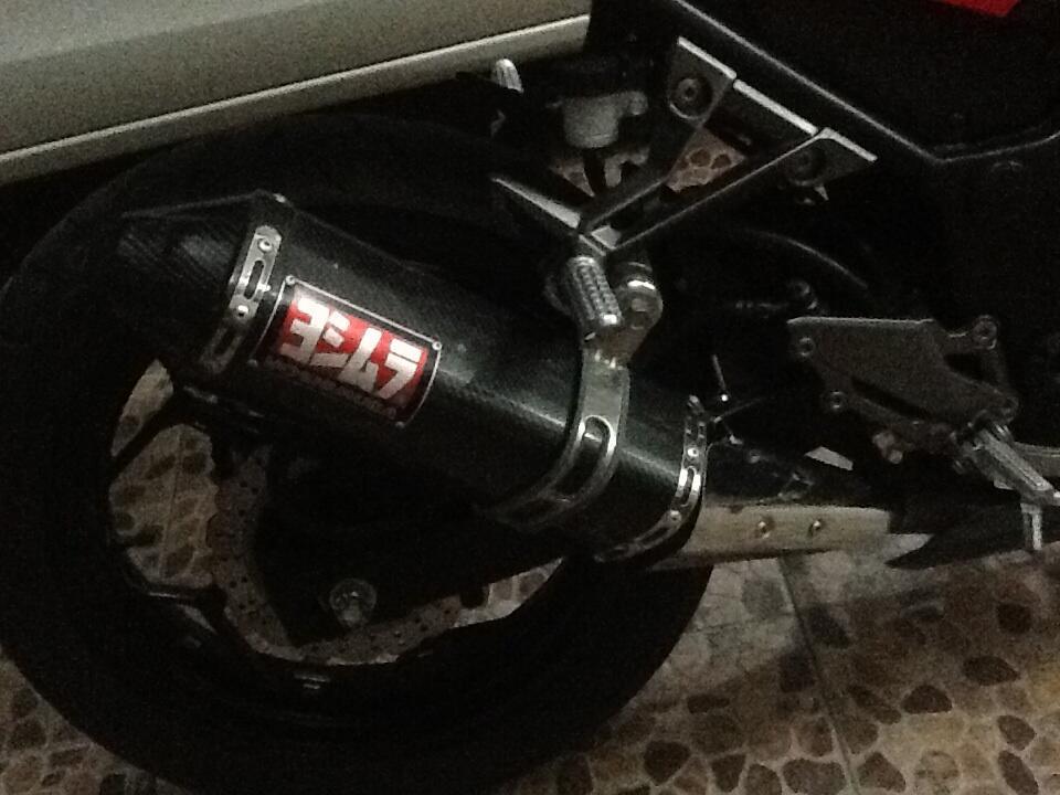 Knalpot ninja 250R (BU) ori mulus 100%. (Mampir gan) dijual cepat nego smpe jadi