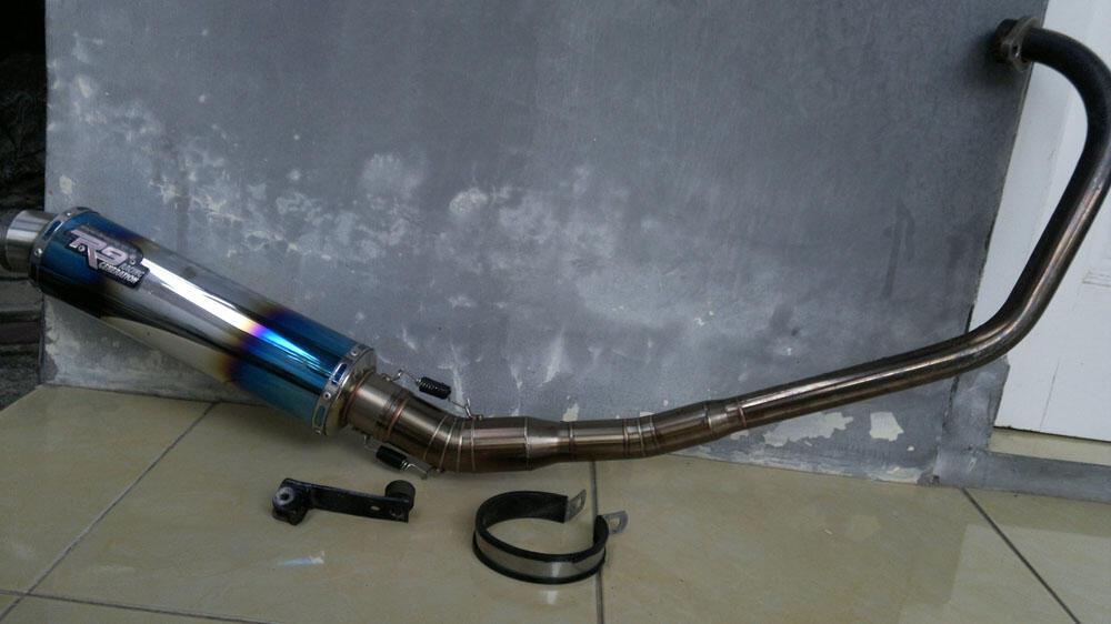 Knalpot R9 New Mugello Vixion