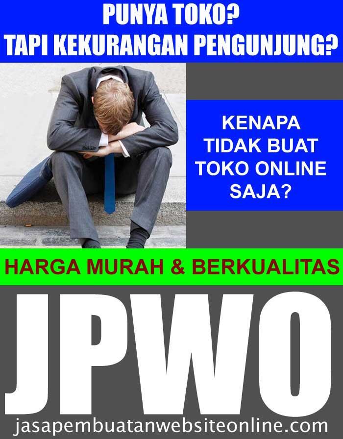 Jasa Web Design Toko Online Murah