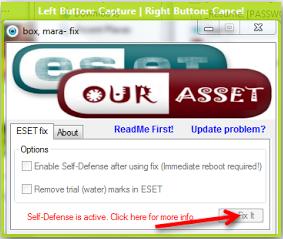 [Share]Aktifasi ESET NOD32 selamanya tanpa username