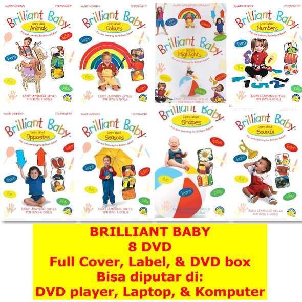 VCD anak belajar bahasa Inggris (Magic English, Baby Bumblebee, Brainy Baby, Baby Gen