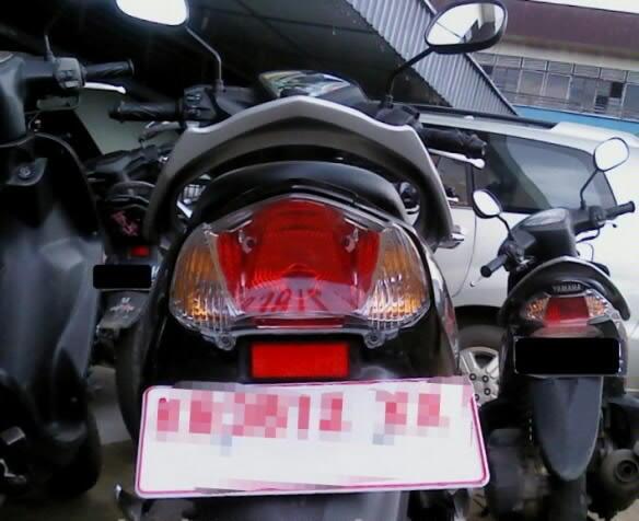 [WTB] lampu belakang daleman mio j, yg warna merah