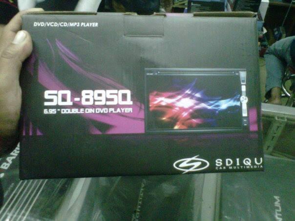 DoubleDin GPS SDIQU Layar 6,95 inch Rp2,5jt Bandung.