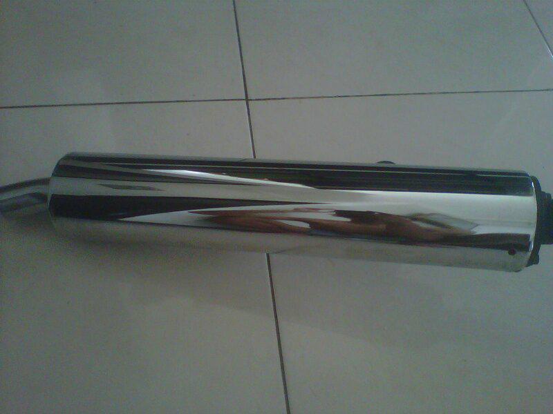 Jual knalpot orsinil Ninja KRR kondisi mulus ( Malang )