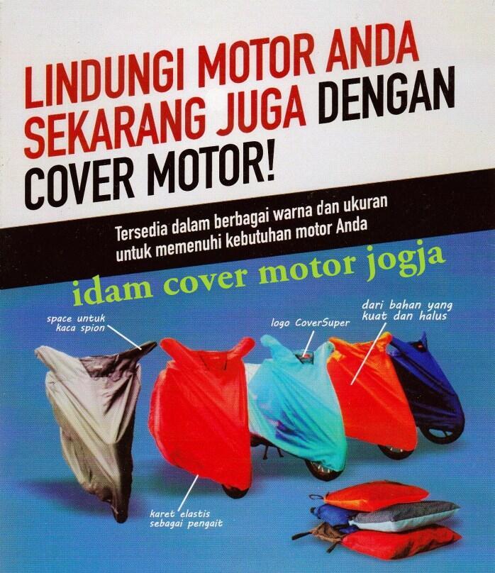 cover super pelindung motor dari debu ujan dan panas warna hitam