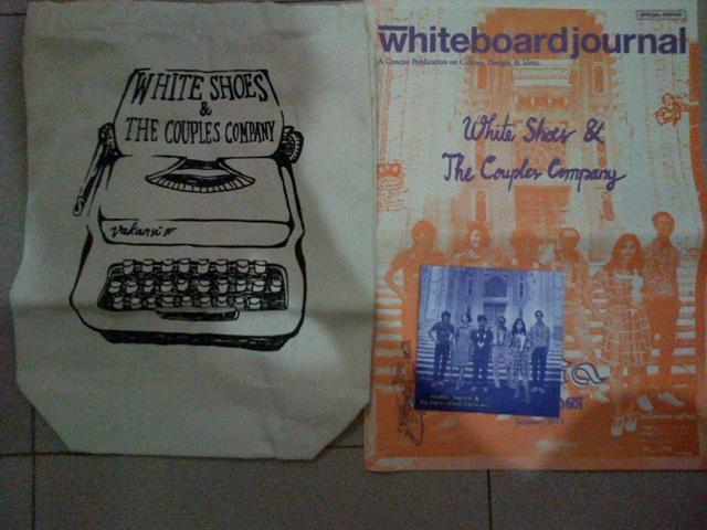 Tote Bag White Shoes And The Couples Company