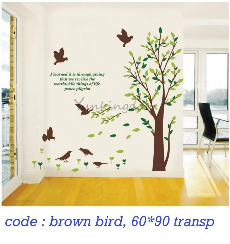 Wall sticker sticker dinding surabaya mojokerto
