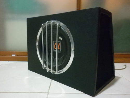 Speaker Subwoofer Alfasonic 100 PSW