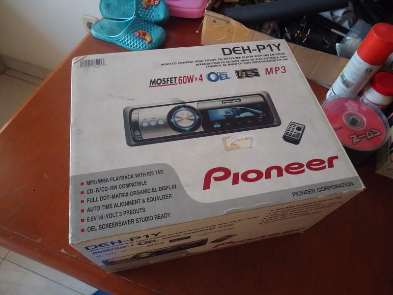 Jual Pioneer DEH-P1Y lengkap seperti baru