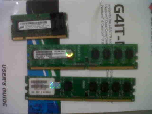 Jual Memory RAM PC visipro DDR2 1GB(PC 5300) & 2GB(PC6400)