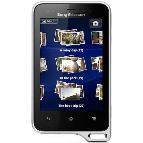 Sony Ericsson Xperia Active ST17i - White/Black