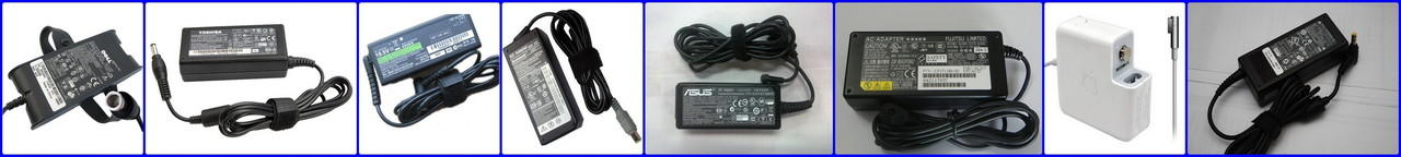 Adaptor/Charger^Laptop Acer*Asus*Toshiba*Dell*Sony*Hp/Compaq*Lenovo*Fujitsu*Magsafe#2