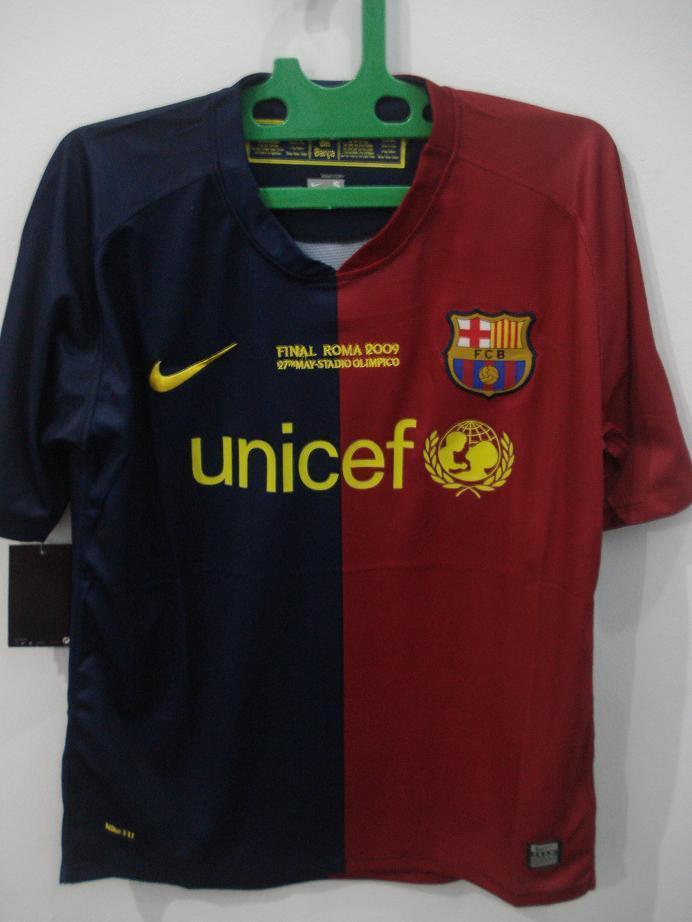 jersey baju barcelona 2008/09 home, arsenal maroon o2 2005/06